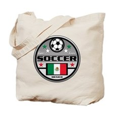Live Love Soccer Mexico Tote Bag