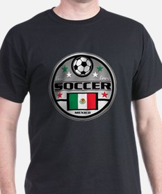 Live Love Soccer Mexico T-Shirt