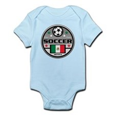 Live Love Soccer Mexico Infant Bodysuit