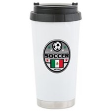 Live Love Soccer Mexico Travel Mug