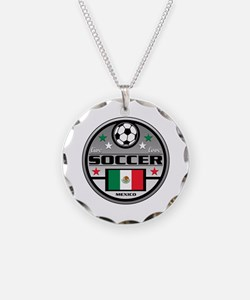 Live Love Soccer Mexico Necklace
