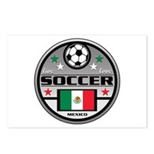 Live Love Soccer Mexico Postcards (Package of 8)
