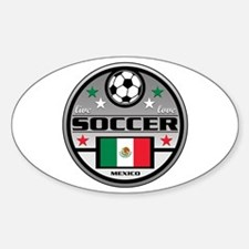 Live Love Soccer Mexico Decal