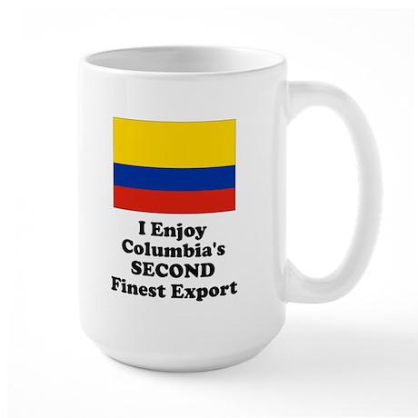 Columbia's Second Finest Export Mug Large Mug