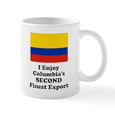 Columbia's Second Finest Export Small Mug Small Mug