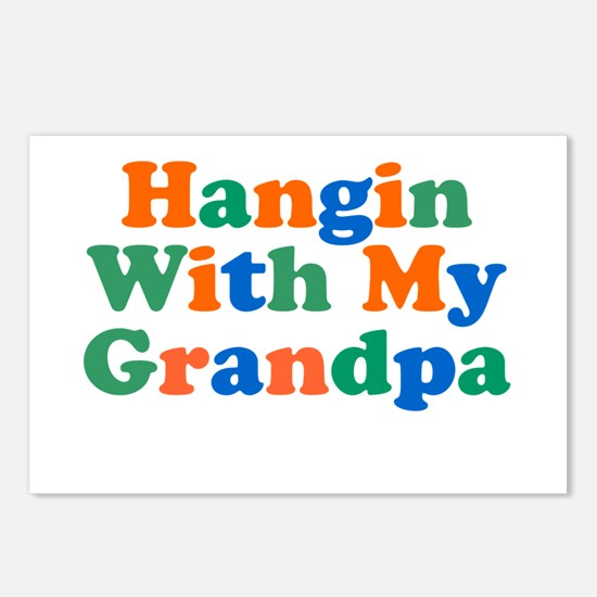 Hangin With My Grandpa Postcards (Package of 8)