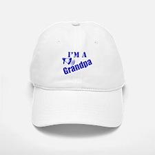 I'm A Grandpa Baseball Baseball Cap