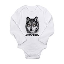 ONE-MAN WOLF PACK Long Sleeve Infant Bodysuit