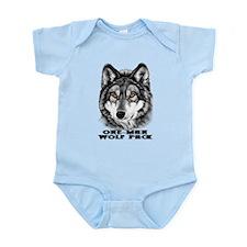 ONE-MAN WOLF PACK Infant Bodysuit