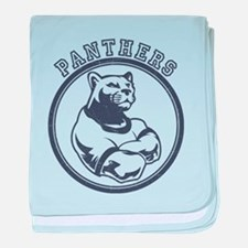 Panthers Team Mascot baby blanket