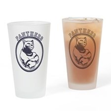 Panthers Team Mascot Drinking Glass