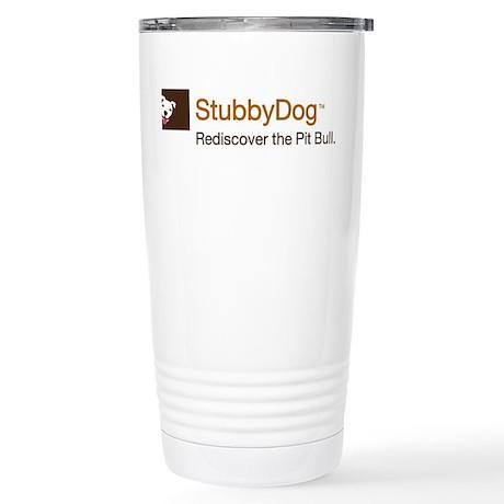 StubbyDog Logo Stainless Steel Travel Mug