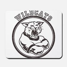 Wilcats team Mascot Graphic Mousepad