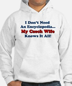 Czech Wife Knows It All Hoodie