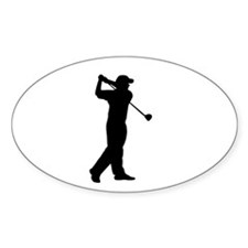 golf dude Decal