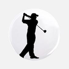 "Cute I love golf 3.5"" Button"