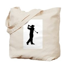 Cute Golfers course Tote Bag