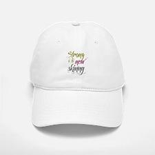 Strong is the New Skinny - Sc Baseball Baseball Cap