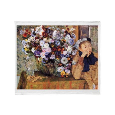 Edgar Degas Throw Blanket