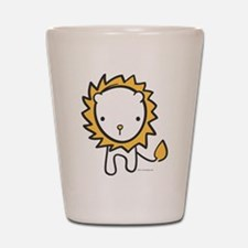 Cuddly Lion Shot Glass
