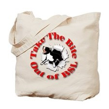 Take a Bite Out of BSL Tote Bag