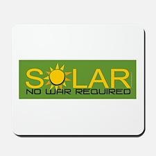 Solar - No War Mousepad