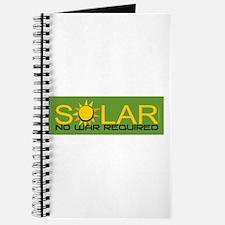 Solar - No War Journal