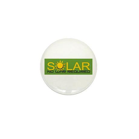 Solar - No War Mini Button