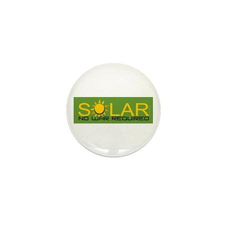 Solar - No War Mini Button (100 pack)