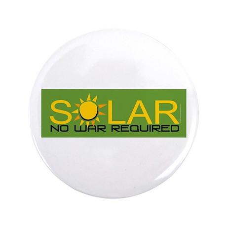 """Solar - No War 3.5"""" Button"""