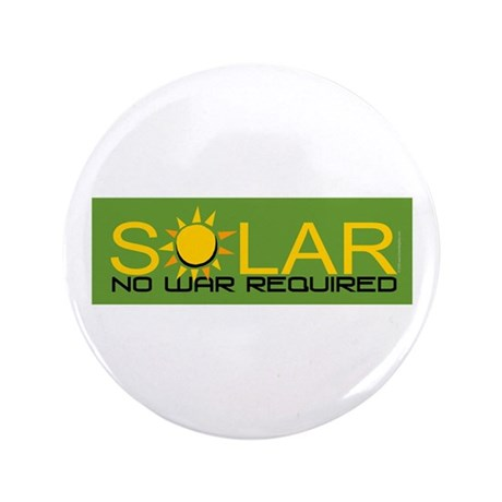 "Solar - No War 3.5"" Button (100 pack)"
