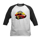 Birthday race car Baseball Jersey