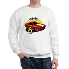 Race Car 6th Birthday Sweatshirt