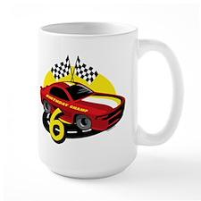 Race Car 6th Birthday Mug