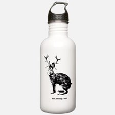 Jackalopes exist Water Bottle