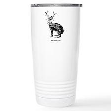 Jackalopes exist Travel Mug