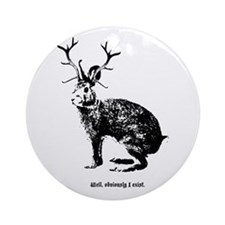 Jackalopes exist Ornament (Round)