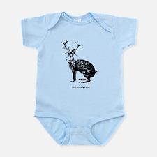 Jackalopes exist Infant Bodysuit