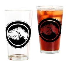Cute Kenpo Drinking Glass