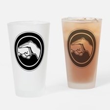 Unique Kenpo Drinking Glass