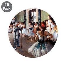 "Edgar Degas 3.5"" Button (10 pack)"