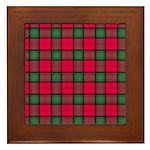 Tartan - Stewart of Athol Framed Tile