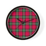 Tartan - Stewart of Athol Wall Clock
