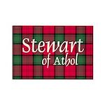 Tartan - Stewart of Athol Rectangle Magnet (100 pa