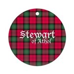 Tartan - Stewart of Athol Ornament (Round)