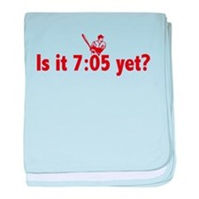 Is it 7:05 Yet? (Philly Baseball) baby blanket
