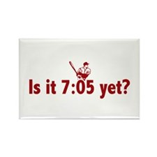 Is it 7:05 Yet? (Philly Baseball) Rectangle Magnet