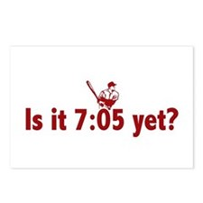 Is it 7:05 Yet? (Philly Baseball) Postcards (Packa