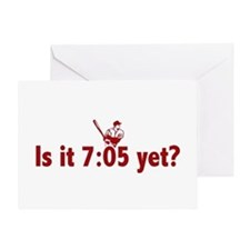 Is it 7:05 Yet? (Philly Baseball) Greeting Card