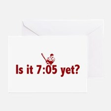 Is it 7:05 Yet? (Philly Baseball) Greeting Cards (